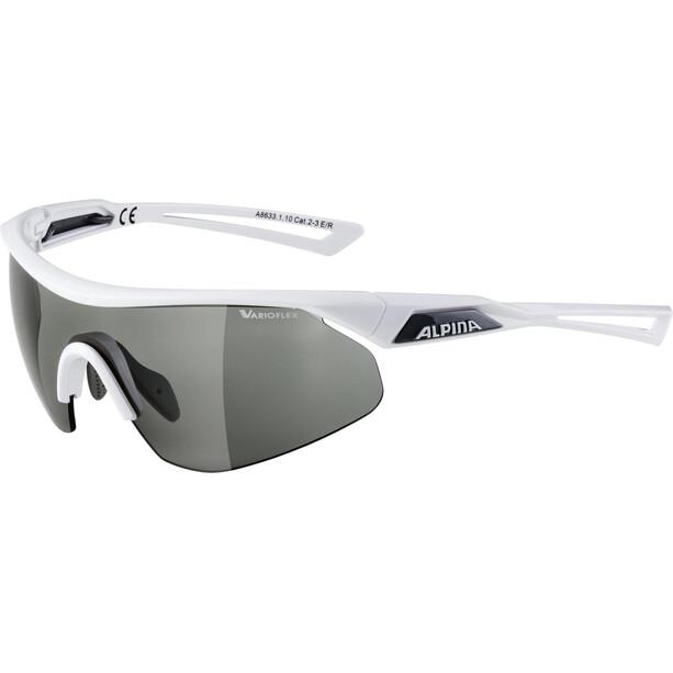 Alpina Nylos Shield VL Brille white