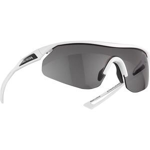 Alpina Nylos Shield VL Cykelbriller, hvid hvid