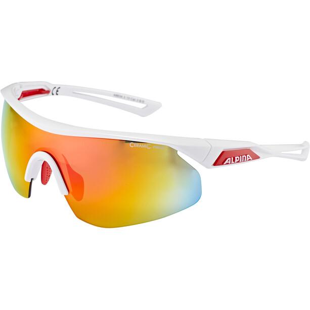 Alpina Nylos Shield Glasses vit