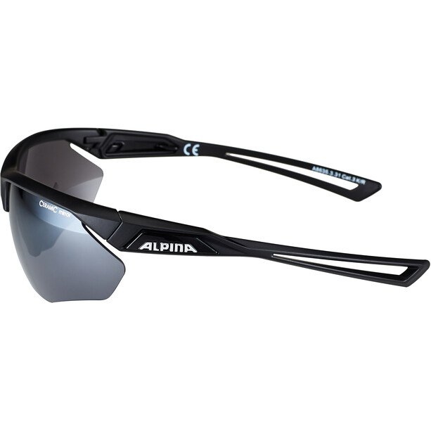 Alpina Nylos HR Brille black matt