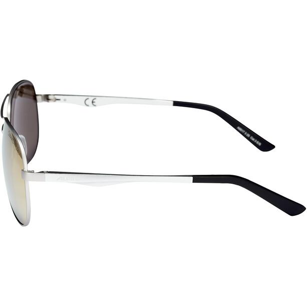 Alpina A 107 Brille silver matt