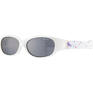 Alpina Sports Flexxy Brille Kinder white-dots white-dots