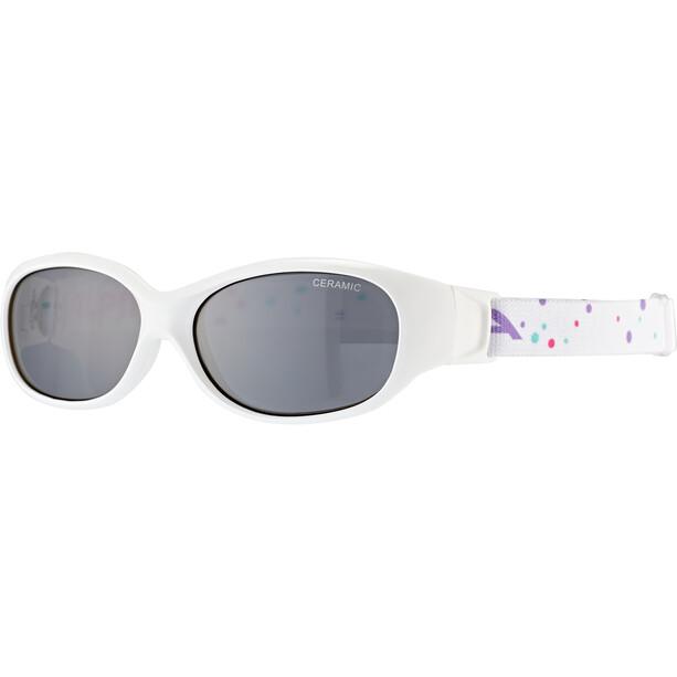 Alpina Sports Flexxy Brille Kinder white-dots