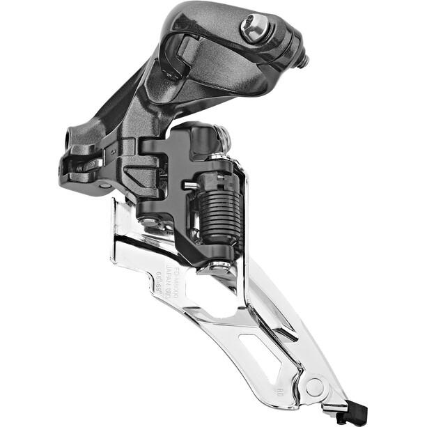 Shimano Deore XT FD-M8000 Etuvaihtaja 3x11 Puristin korkea sovittimella 318/286mm 66-69° 40 hammasta