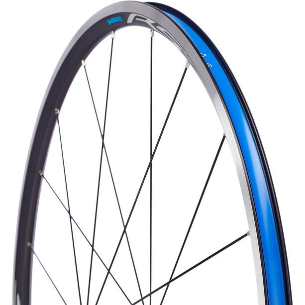 Shimano Road WH-RS100-CL Wheel Front QR 100mm Rim Brake, noir