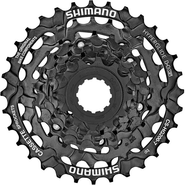 Shimano CS-HG200 Kassette 7-fach 12/14/16/18/21/26/32 Zähne