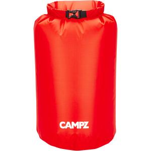 CAMPZ Bolsa seca 13l, rojo rojo