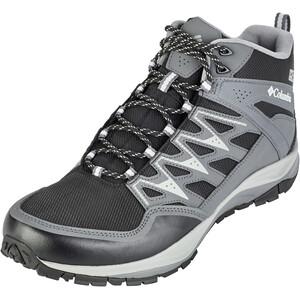 Columbia Wayfinder Mid Outdry Schuhe Herren black/white black/white