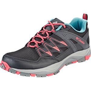 Columbia Wayfinder Outdry Schuhe Damen black/red coral black/red coral