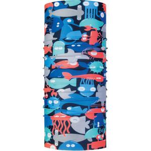 Buff Coolnet UV+ Schlauchschal Kinder shoal blue shoal blue