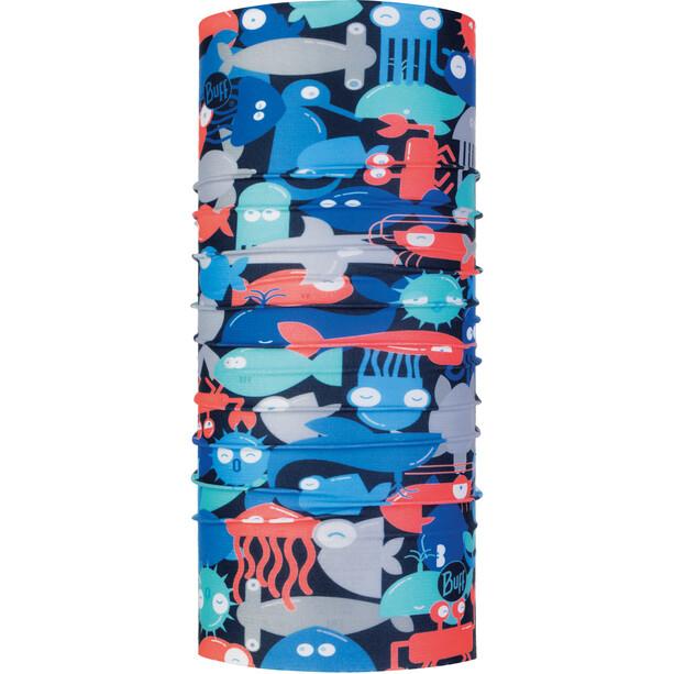 Buff Coolnet UV+ Schlauchschal Kinder shoal blue