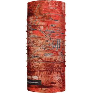 Buff Coolnet UV+ Tour de cou, rouge rouge