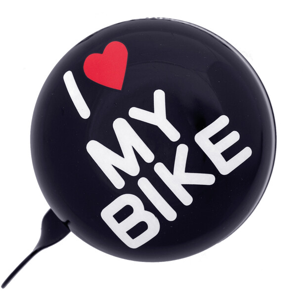 URBAN PROOF Ding Dong Klingel 8cm i love my bike black
