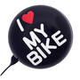 i love my bike black