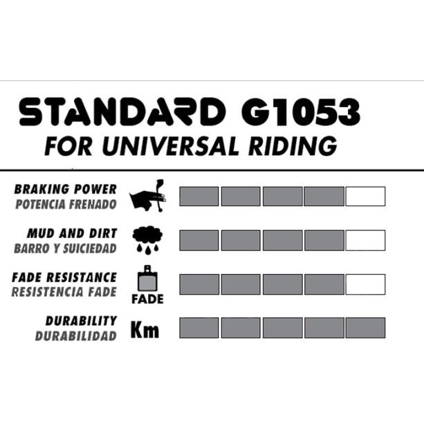 GALFER BIKE Standard Bremsbeläge für Shimano Deore XT BR-M755