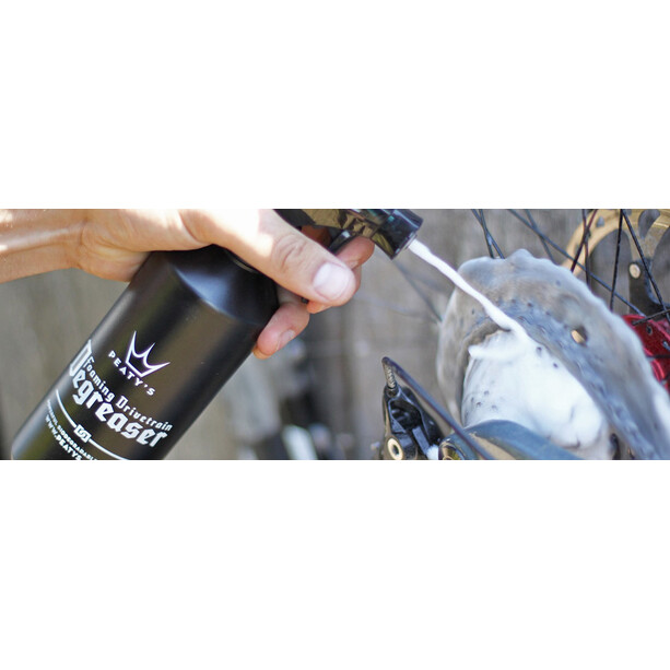 Peaty's Foaming Drivetrain Degreaser 1l spray bottle