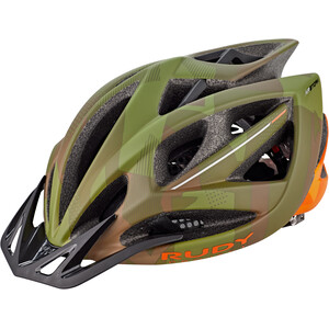 Rudy Project Airstorm MTB Helm olive green/orange camo olive green/orange camo