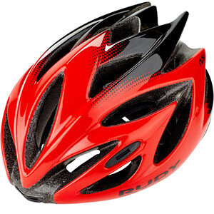 Rudy Project Rush Helm red/black shiny red/black shiny