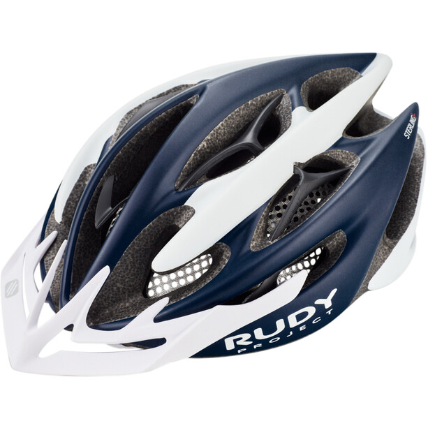 Rudy Project Sterling + Helmet blue - white matte