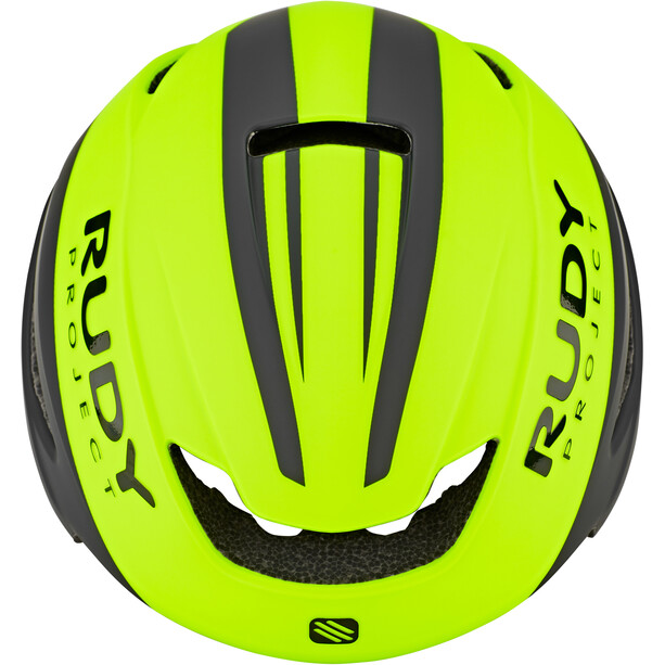 Rudy Project Volantis Helm yellow fluo/black matte