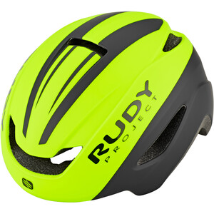 Rudy Project Volantis Helm yellow fluo/black matte yellow fluo/black matte