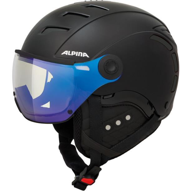Alpina Jump 2.0 VM Skihelm black matt