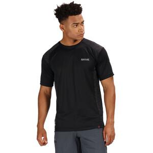 Regatta Hyper-Reflective II T-Shirt Herren black/black black/black