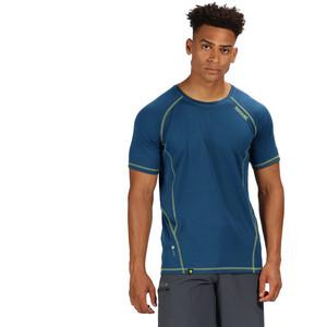 Regatta Virda II T-Shirt Herren lime punch/majolica blue lime punch/majolica blue