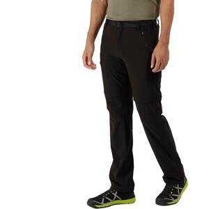 Regatta Xert II Stretch Zip-Off Hose Regular Herren black black