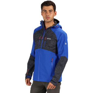 Regatta Montegra II Jacke Herren surf spray/navy reflective surf spray/navy reflective