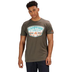 Regatta Cline III T-Shirt Herren grape leaf grape leaf
