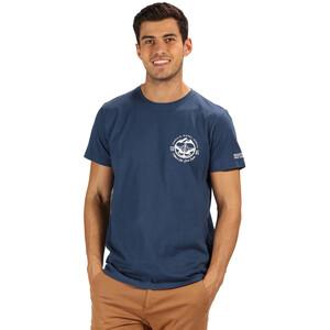 Regatta Cline III T-Shirt Herren blue wing/captains blue blue wing/captains blue