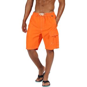 Regatta Hotham Board Shorts Herren blaze orange blaze orange
