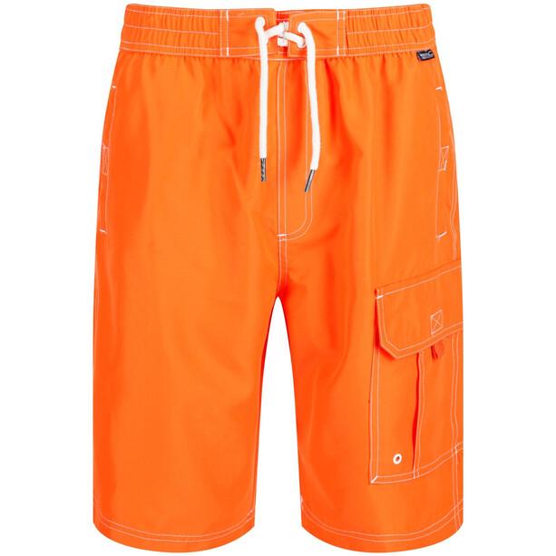 Regatta Hotham Boardshorts Herren blaze orange