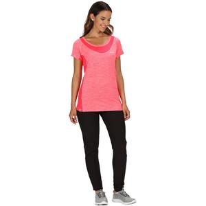 Regatta Breakbar IV Kurzarm T-Shirt Damen neon pink/neon pink neon pink/neon pink