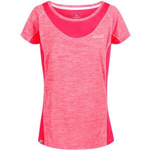 Regatta Breakbar IV Lyhythihainen T-Paita Naiset, vaaleanpunainen vaaleanpunainen
