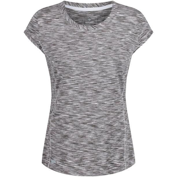 Regatta Hyperdimension Kurzarm T-Shirt Damen light steel