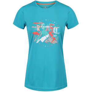 Regatta Fingal IV Kurzarm T-Shirt Damen enamel enamel