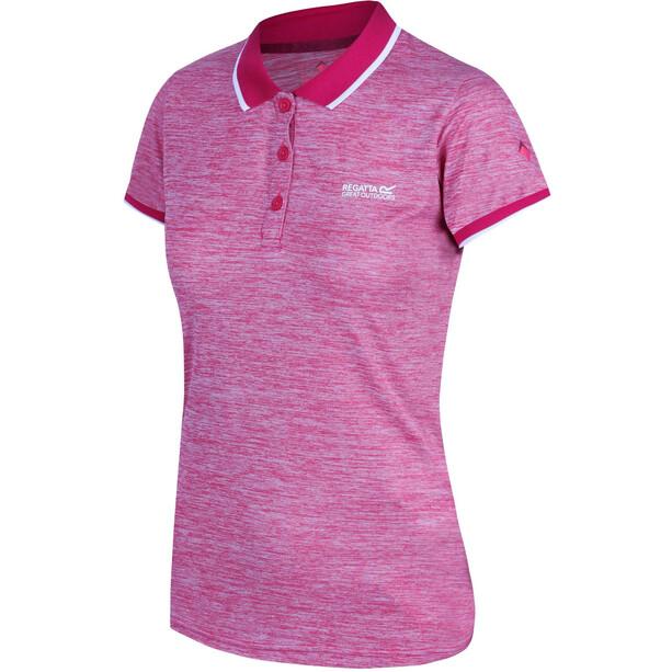 Regatta Remex II Kurzarm T-Shirt Damen pink