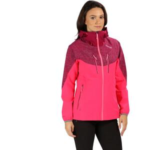 Regatta Montegra II Jacke Damen neonpin/beet neonpin/beet