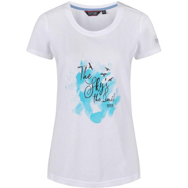 Regatta Filandra III T-Shirt Damen white/silver