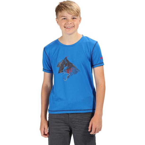 Regatta Alvarado IV T-Shirt Kinder oxford blue