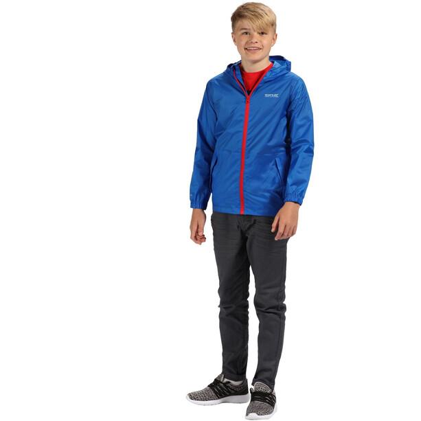 Regatta Pack It III Jacke Kinder oxford blue