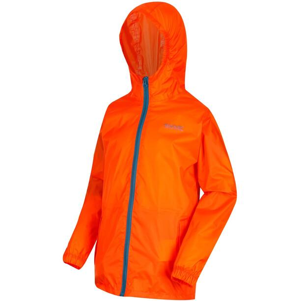 Regatta Pack It III Jacke Kinder blaze orange