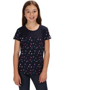 Regatta Cantrelle T-Shirt Mädchen navy polka dot navy polka dot