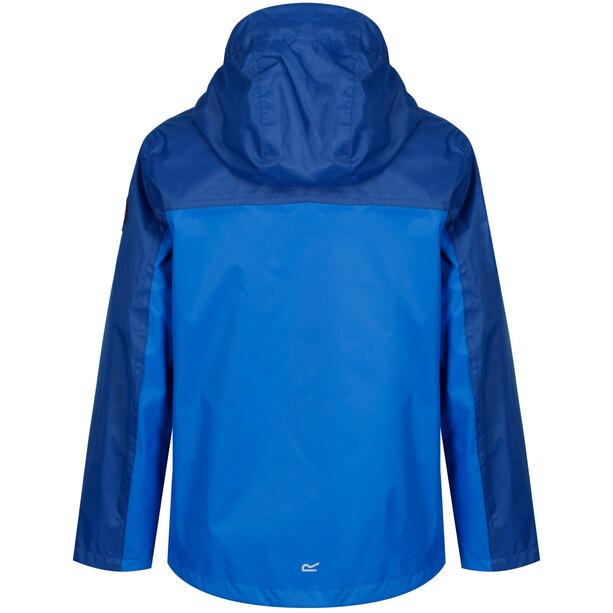 Regatta Disguizer Jacke Jungen laser blue/oxford blue camo