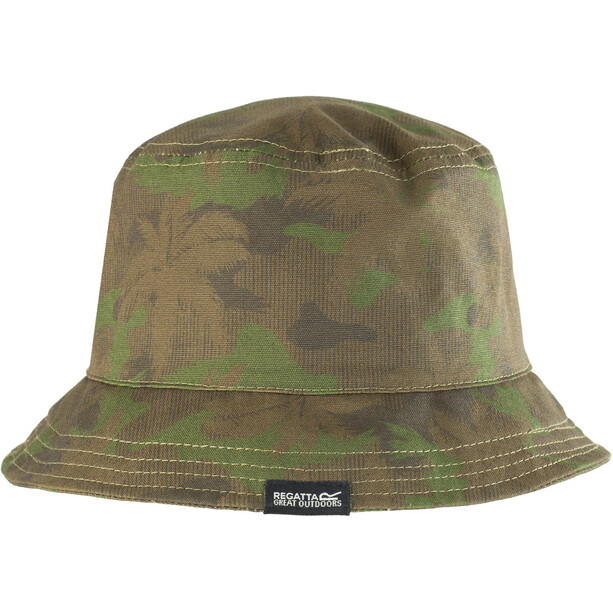 Regatta Crow Hut Jungen grape leaf camo print