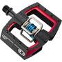 Crankbrothers Mallet DH Pedale Super Bruni Edition schwarz/rot/blau