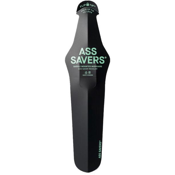 Ass Savers Ass Saver Sprutbeskyttelse Regelmessig Svart