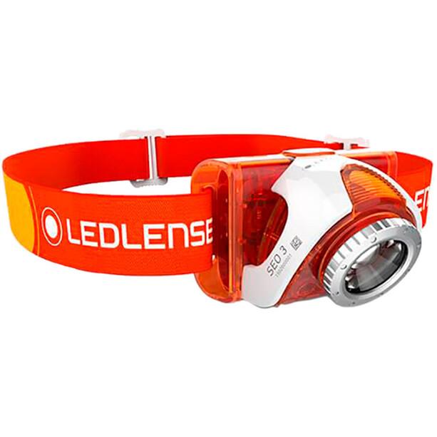 Led Lenser SEO 4 Stirnlampe orange